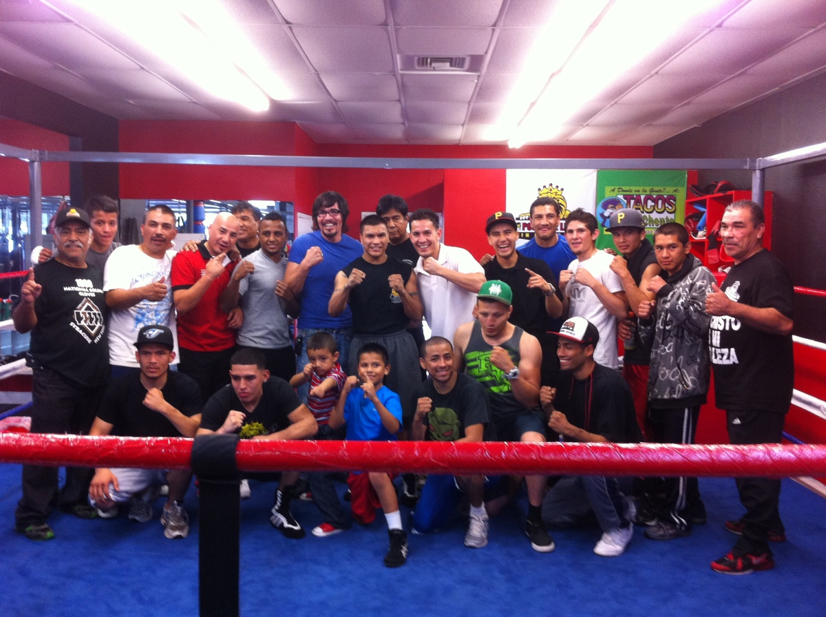 An inside look at Daniel Ponce de Leon's Boxing Gym